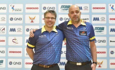 Sweden's Hellstrøm, Paulsson take over lead in Men's World Singles Championships