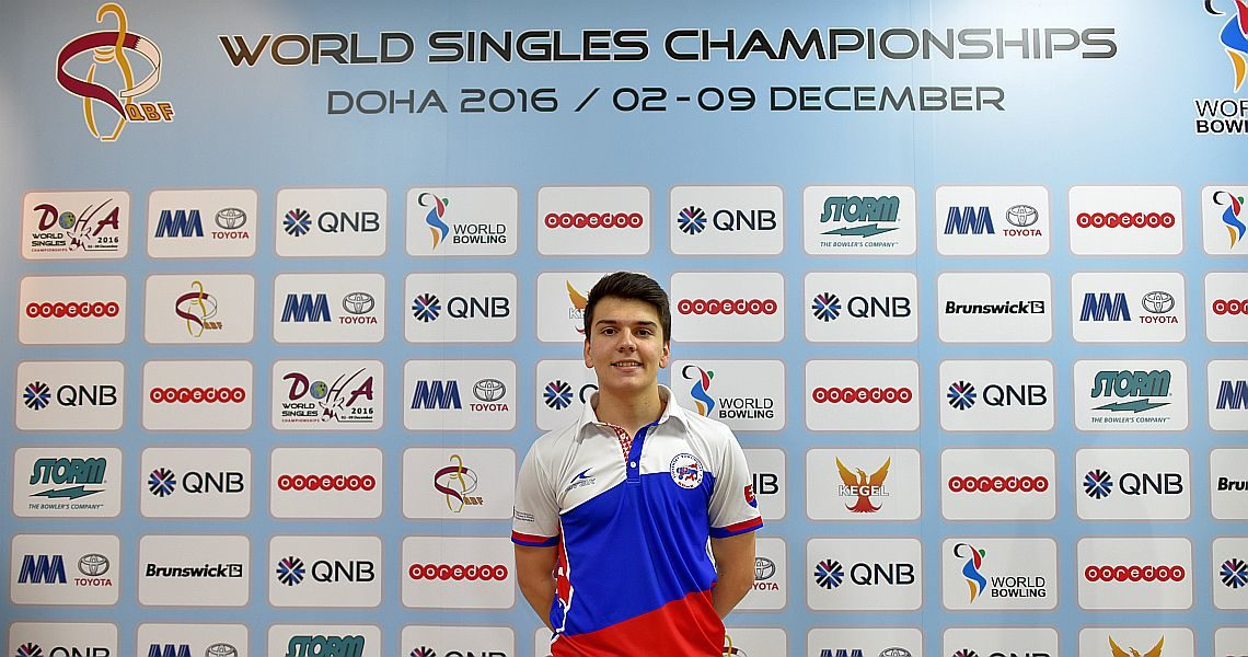 Slovakia's Tomas Vrabec takes early lead in World Singles Championships