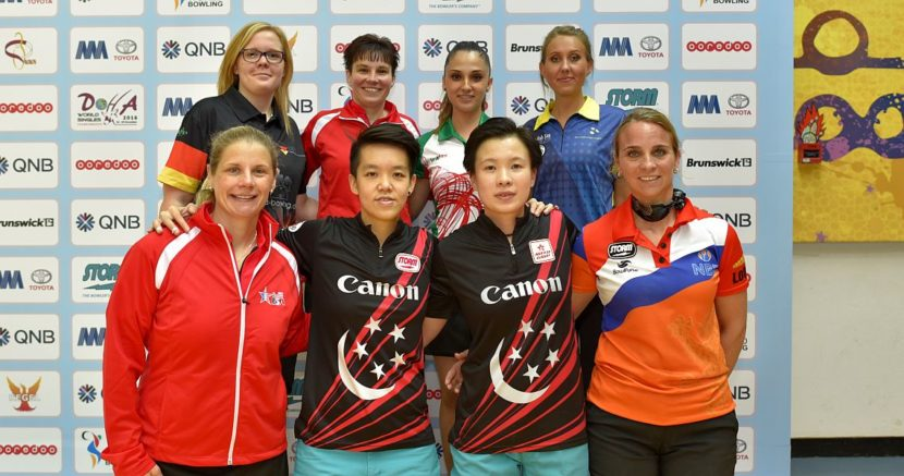 It's down to eight women in World Singles Championships