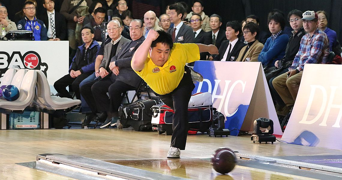 Japan's Shota Kawazoe leads DHC PBA Japan Invitational