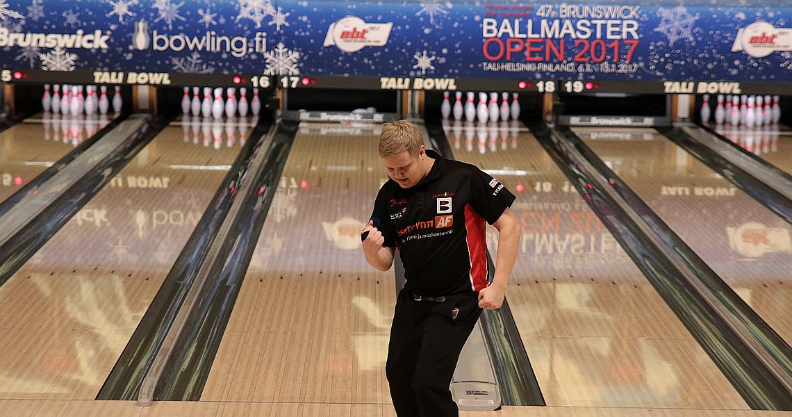 Juho Rissanen sets the pace in 47th Brunswick Ballmaster Open