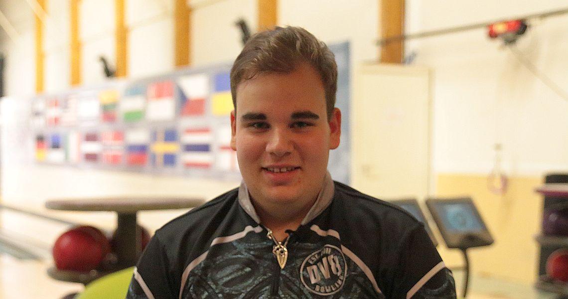 Finland's Niko Oksanen adds his name to the leaderboard in Helsinki