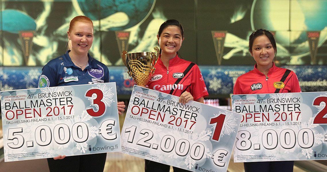 Singapore's Daphne Tan wins 47th Brunswick Ballmaster Open