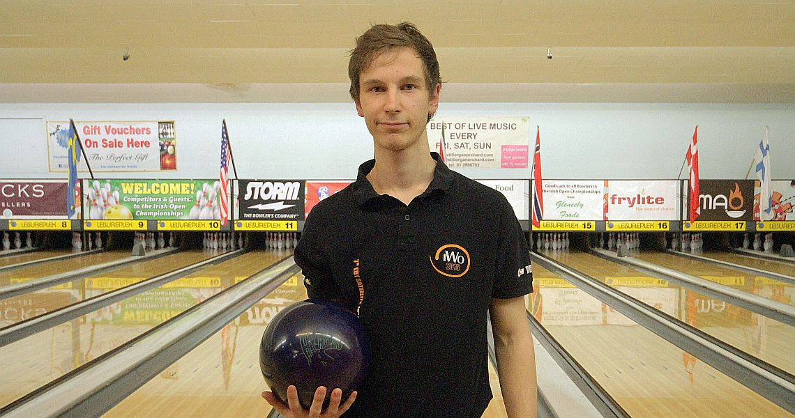 Finland's Tomas Kayhko falls three pins short of the lead in Ireland