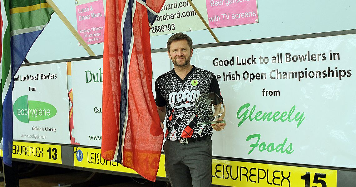 Tore Torgersen captures his second Irish Open title