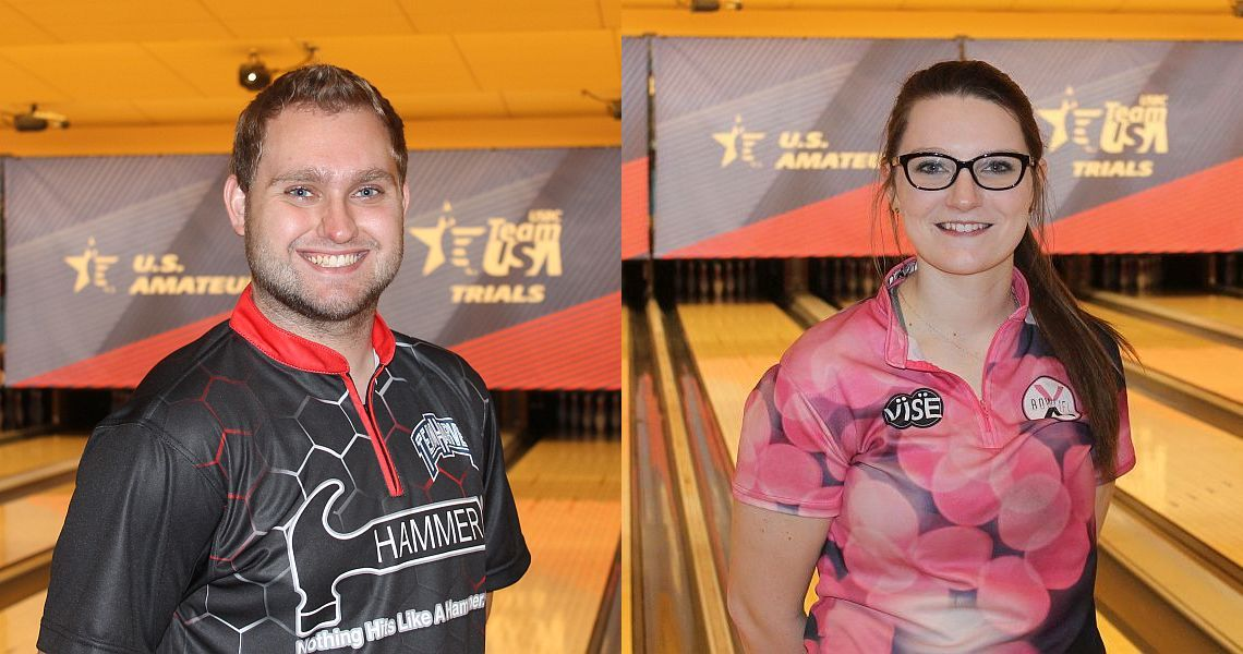 Brummett, Pate lead after first day at 2017 USBC Team USA Trials