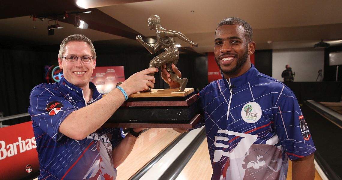 Chris Paul, Chris Barnes win State Farm CP3 PBA Celebrity Invitational