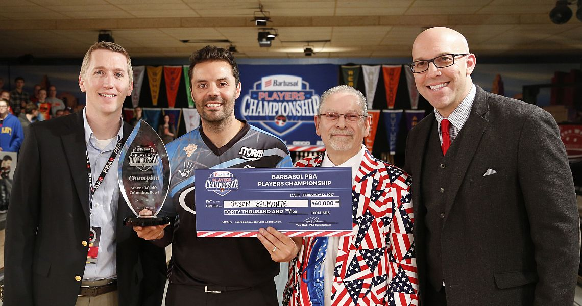 Jason Belmonte notches his second Players Championship win