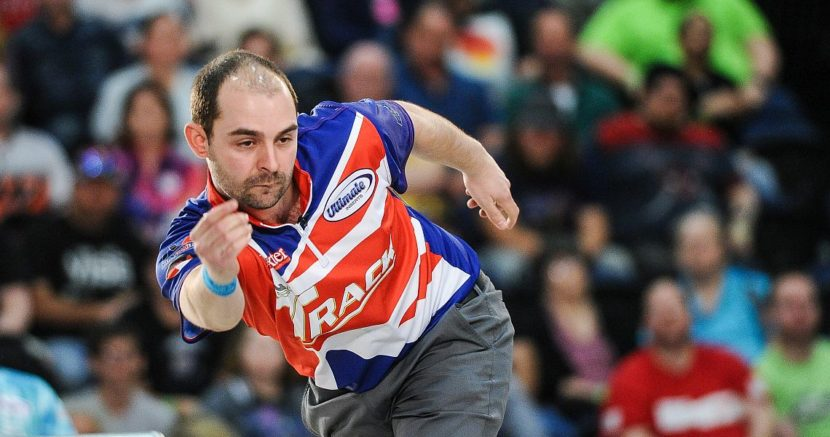 Dom Barrett takes early lead in World Bowling Tour Men's Ranking