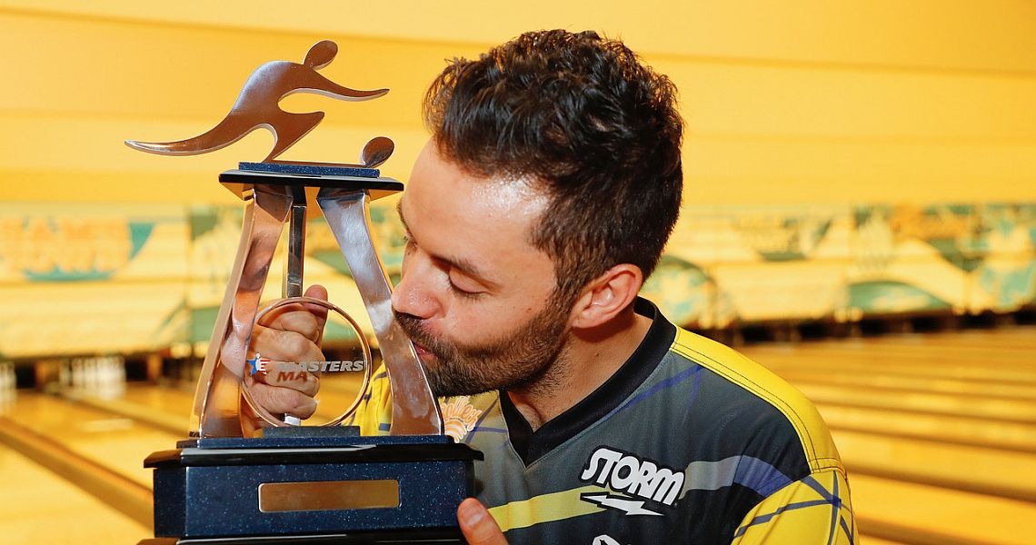 Jason Belmonte wins record fourth USBC Masters title