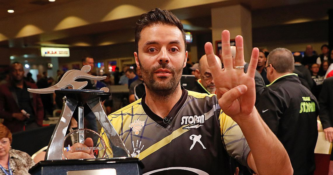 Jason Belmonte escapes serious injury on eve of USBC Masters