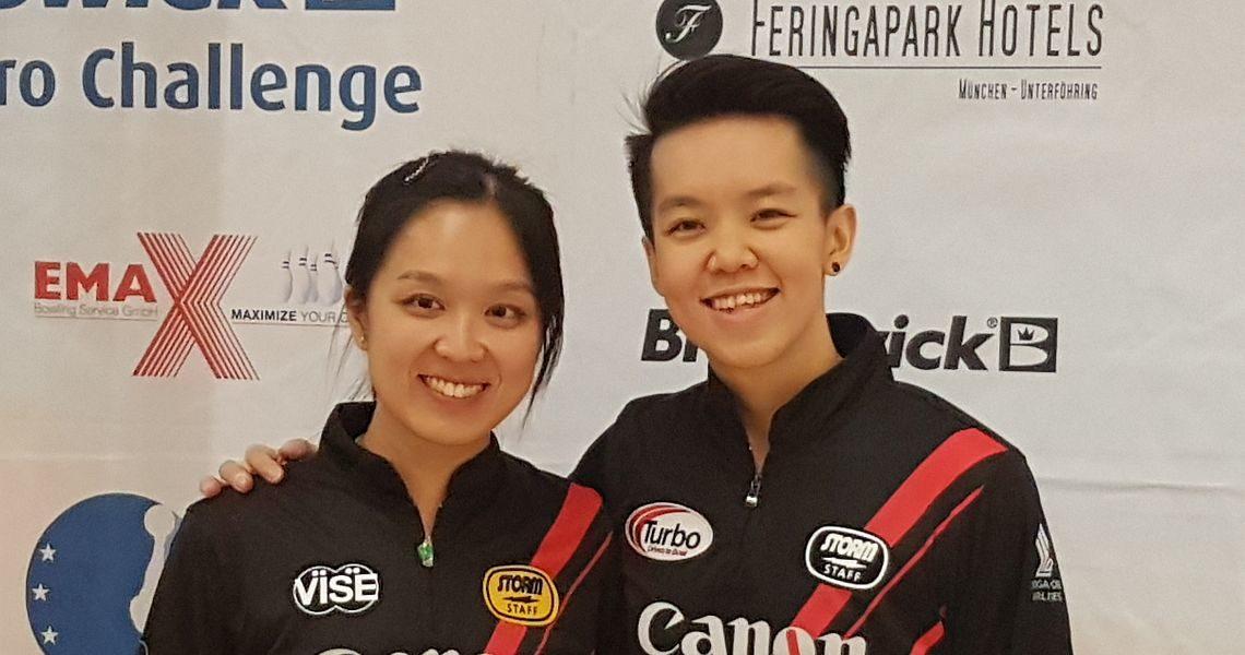 Shayna Ng, Francois Louw crack 1500-bar at Brunswick Euro Challenge