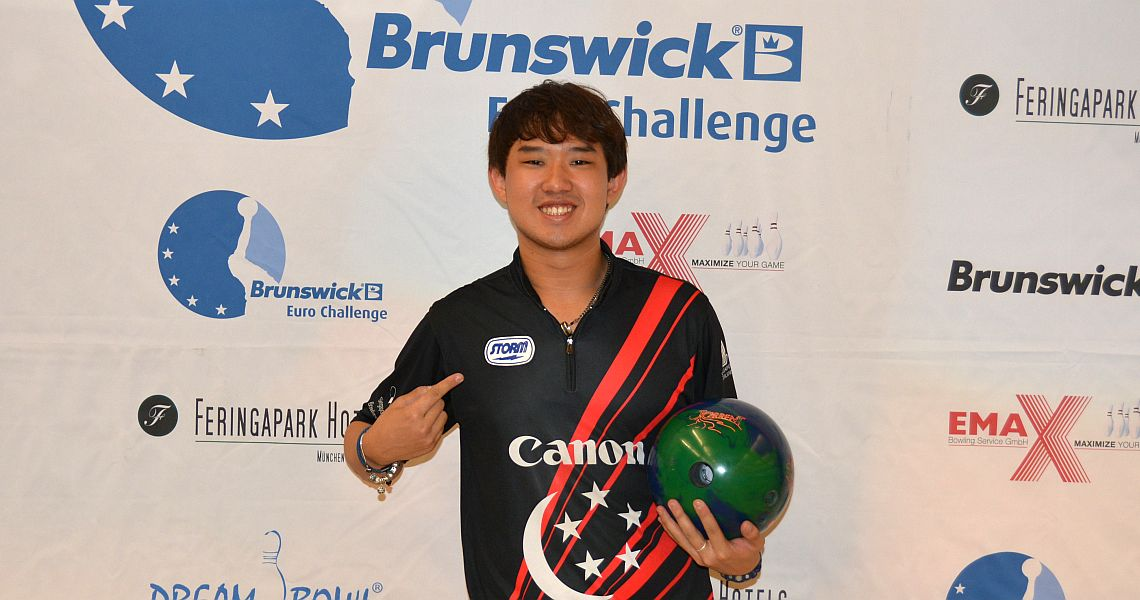 Asian bowlers dominate opening day at Brunswick Euro Challenge