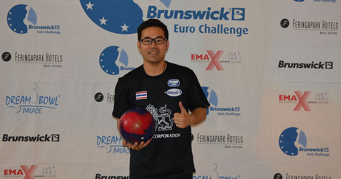Yannaphon Larp-apharat shoots into lead at Brunswick Euro Challenge
