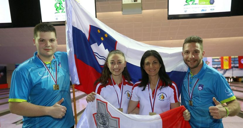 Slovenia, Malta capture men's and women Doubles gold in Ljubljana