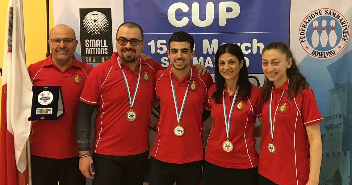 Malta wins the prestigious Team title at Small Nations Cup