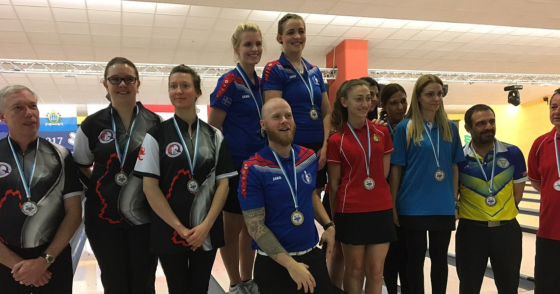 Iceland's women, Cyprus' men win Doubles gold at Small Nations Cup