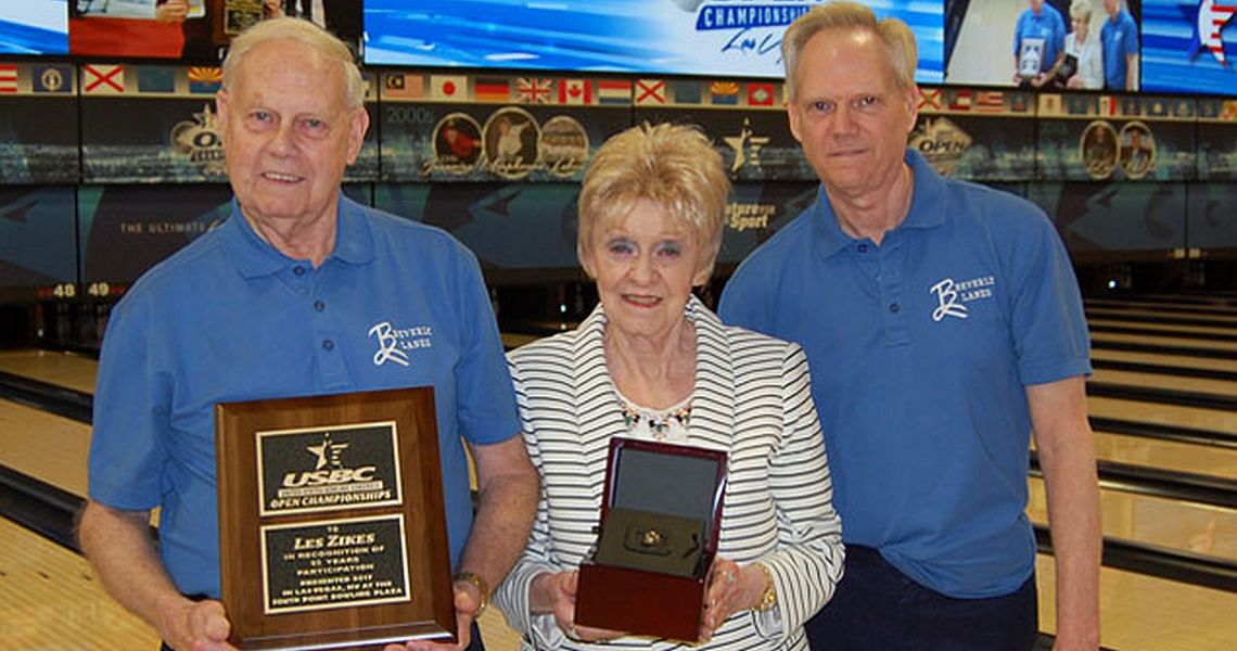 Les Zikes celebrates 65 years at USBC Open Championships