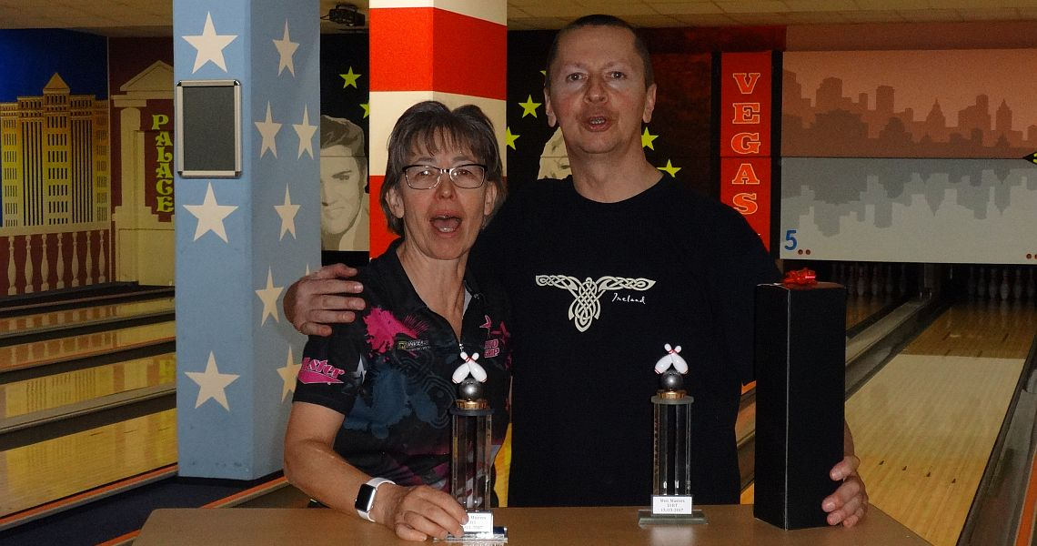 Martina Beckel, Carlo Greulich repeat as ISBT Masters Champions