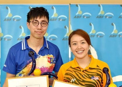 Sin Li Jane, Michael Mak start 2017 ABF Tour with victory in Thailand