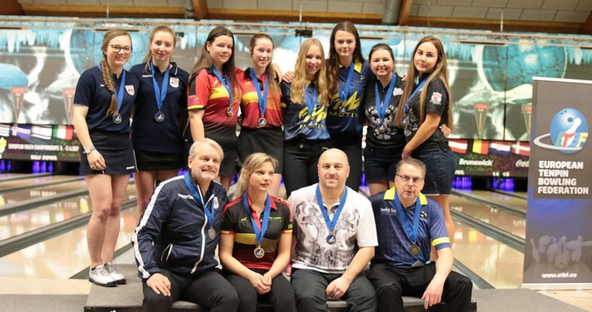 Belgian girls win gold in Doubles at European Youth Championships