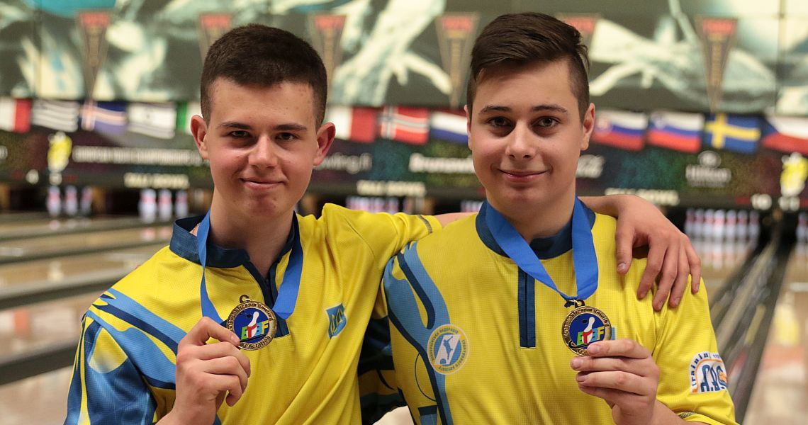 Ukraine claims gold in Boys' Doubles in dramatic fashion