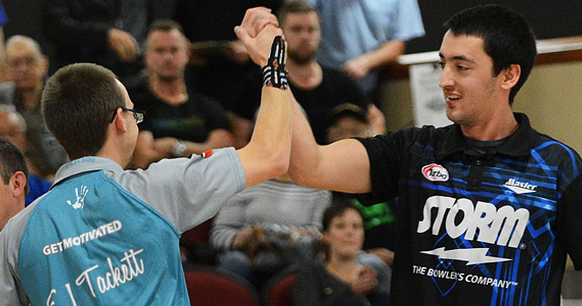 Tackett, Kent lead top 8 teams into PBA Doubles match play