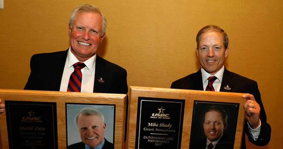 David Ozio, Mike Shady inducted into USBC Hall of Fame