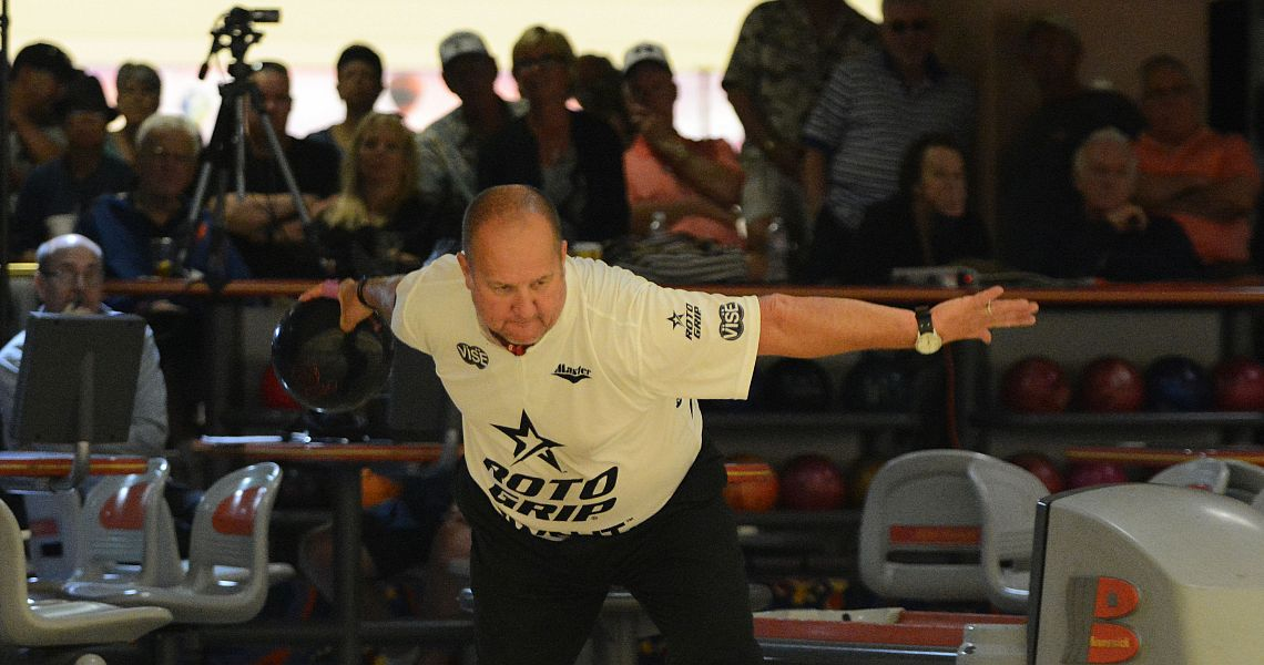 Brian Kretzer takes top qualifier honors in PBA50 Race City Open