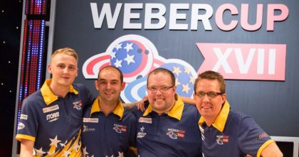 Europe unchanged for Weber Cup XVIII
