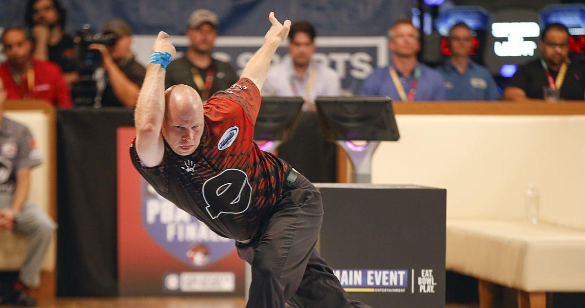 Tommy Jones takes first round lead in PBA XF Wilmington Open