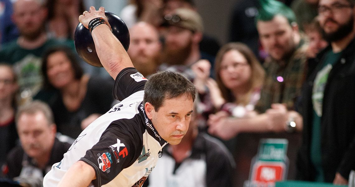 Parker Bohn III moves to the top in PBA50 Johnny Petraglia BVL Open