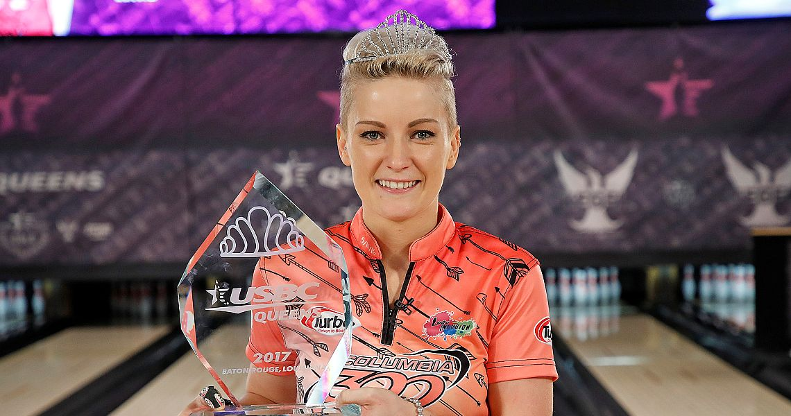 Diana Zavjalova collects second tiara at 2017 USBC Queens