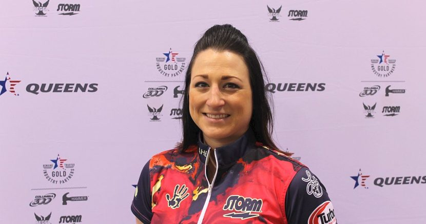 Lindsay Boomershine continues strong at 2017 USBC Queens
