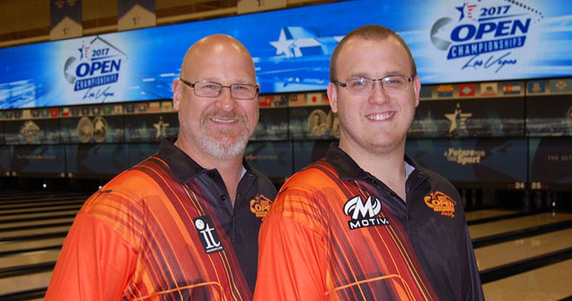 Father, son grab lead at 2017 USBC Open Championships