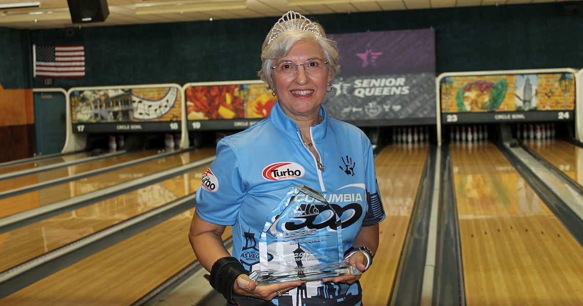 Lucy Sandelin wins third USBC Senior Queens title