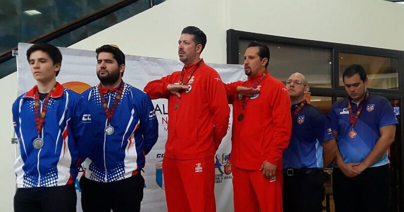 Mexico sweeps gold in Doubles at CAC Championship