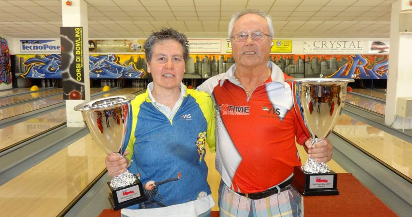 Daniella Buzzelli, Hermann Wimmer capture Italy Senior Open titles
