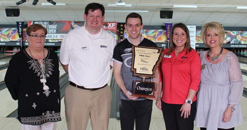 Canada's Francois Lavoie wins PBA XF Greater Jonesboro Open