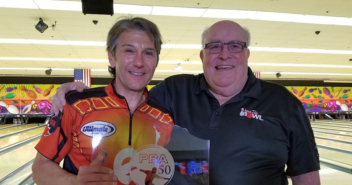 Amleto Monacelli wins PBA50 Northern California Classic