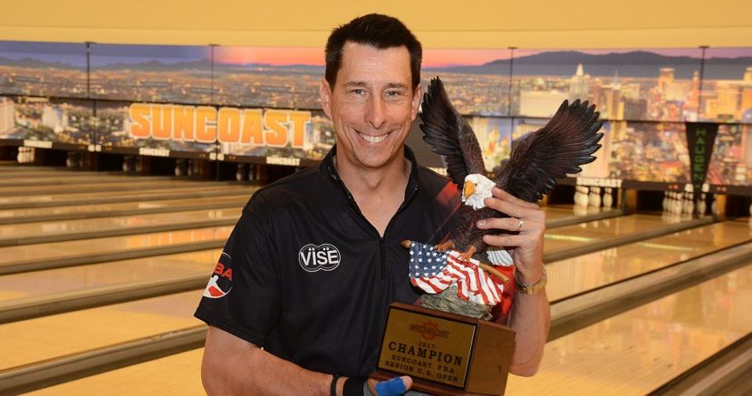 Michael Haugen Jr. wins Suncoast PBA Senior U.S. Open