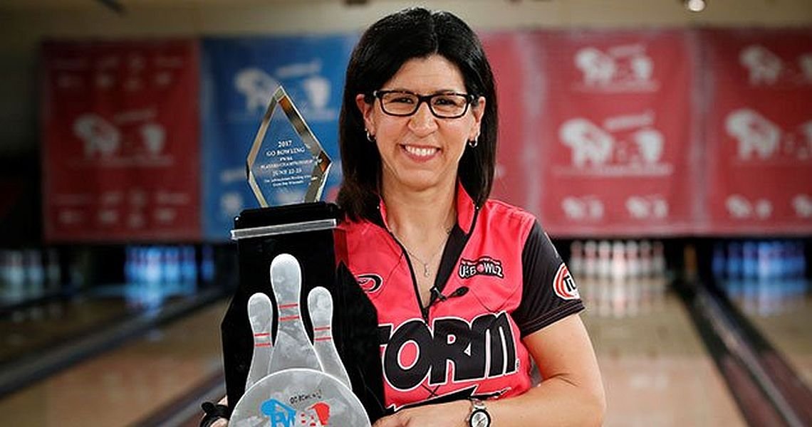 Liz Johnson adds to her legend as June IBMA Bowler of the Month