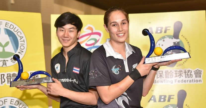 Bianca Tofilau, Atchariya Cheng prevail at ABF Tour Chinese Taipei leg