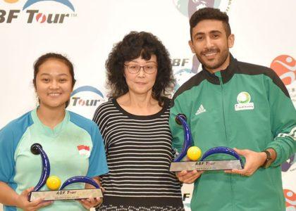 Nadia Pramanik, Ammar Tarrad emerge as ABF Tour Hong Kong champions