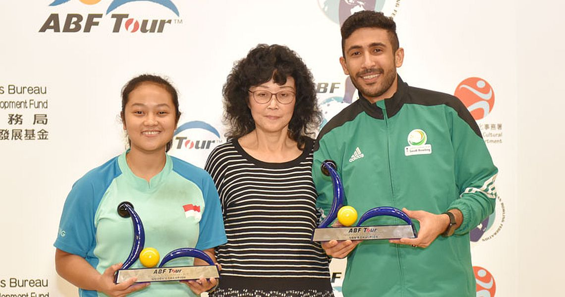 Nadia Pramanik, Ammar Tarrad emerge as ABF Tour Hong Kong champions