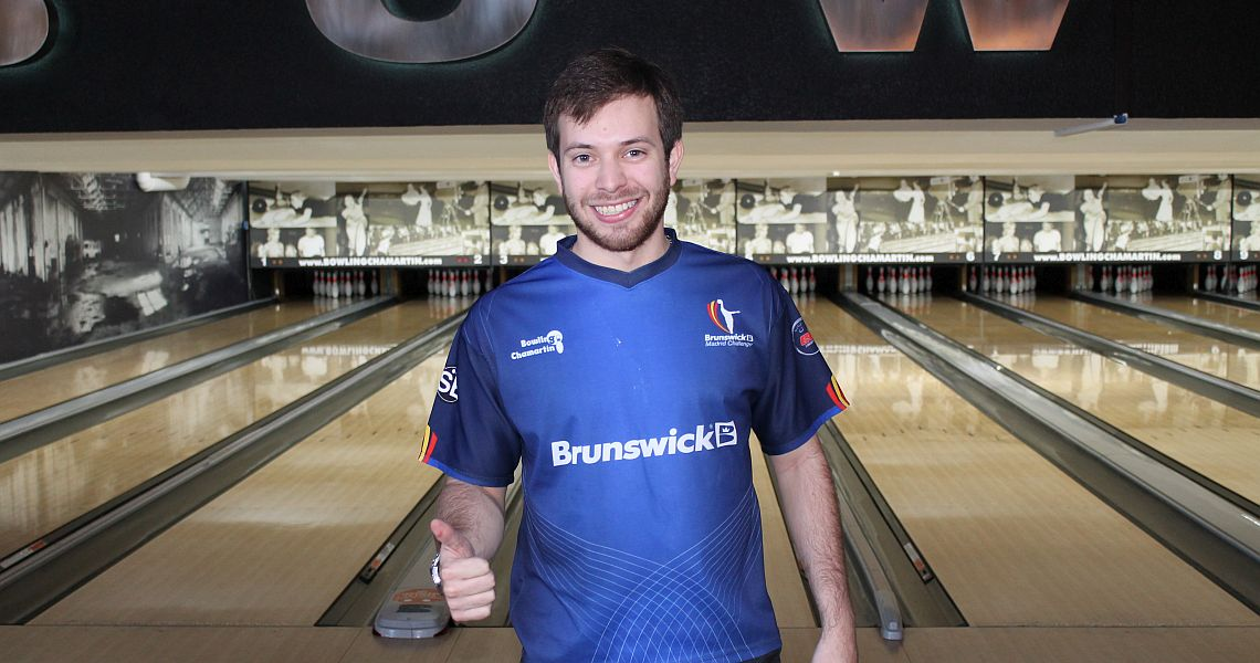 Luis Briceño moves into top 3 at Brunswick Madrid Challenge