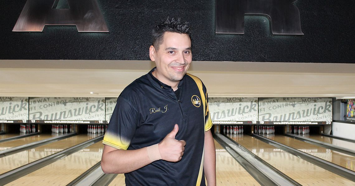 Raul Jimenez cracks 1500-bar in Brunswick Madrid Challenge