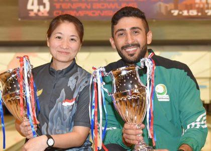 Tarrad, Limansantoso win 43rd Hong Kong International from top seed