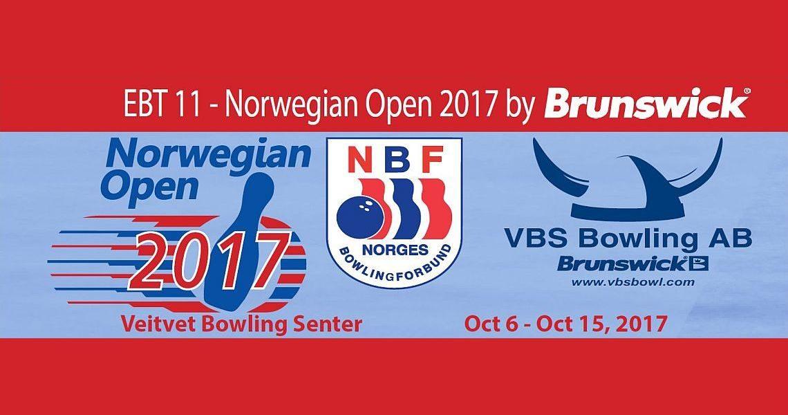 Norwegian Open 2017 by Brunswick to conclude 2017 European Bowling Tour