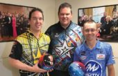 PBA stars Tackett, Rash, Malott visit White House Lanes